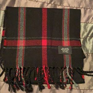 Accessories - Black and red plaid scarf